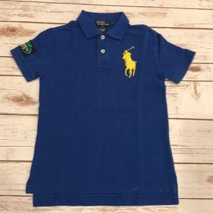 Boys Polo Ralph Lauren Polo T Shirt US Open Size 7